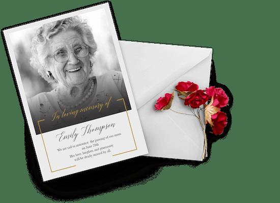 Memorial & Funeral Cards