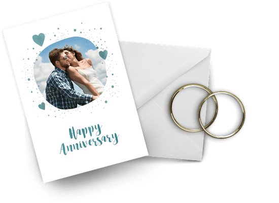 Anniversary cards to each other