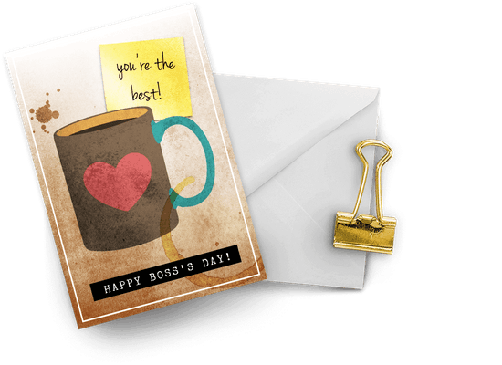 Boss day cards