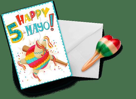 Tarjetas para el Cinco de Mayo