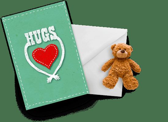 Hugs cards