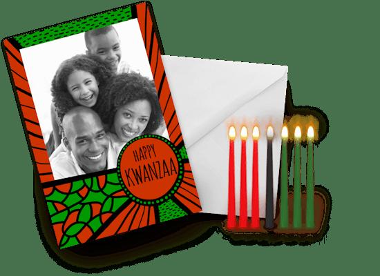 Tarjetas de Kwanzaa
