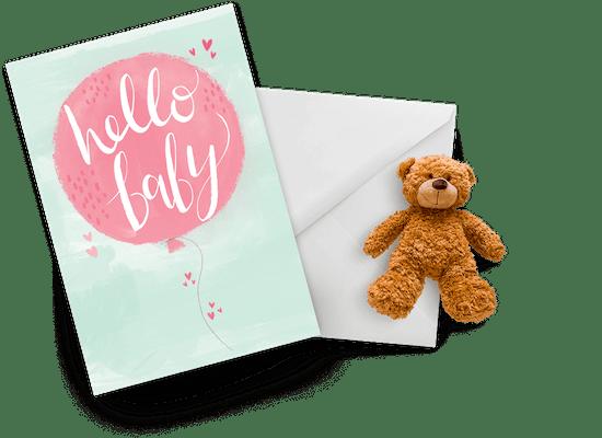 Tarjetas de recién nacido