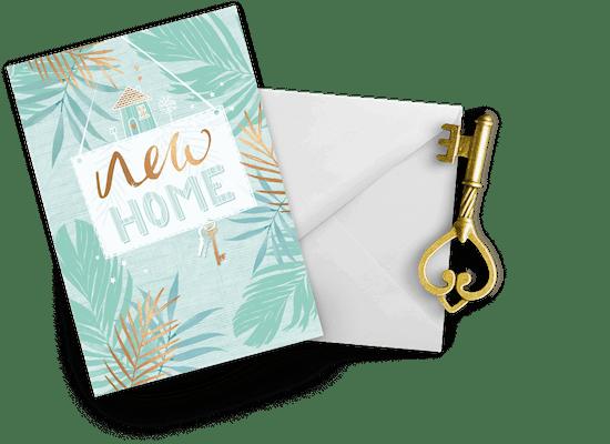 Tarjetas De Casa Nueva
