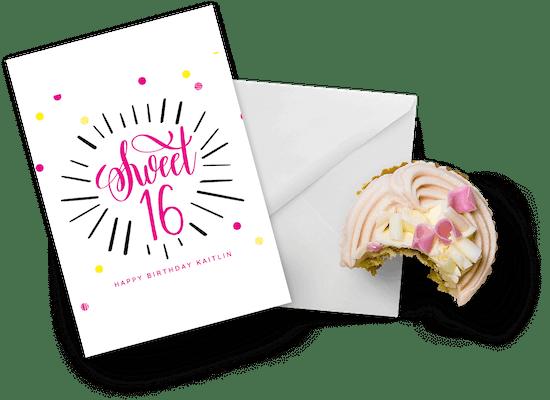 Sweet 16 birthday cards