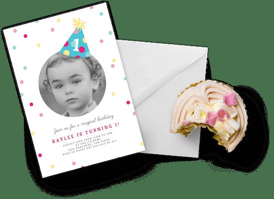 Invitaciones para el primer cumpleaños