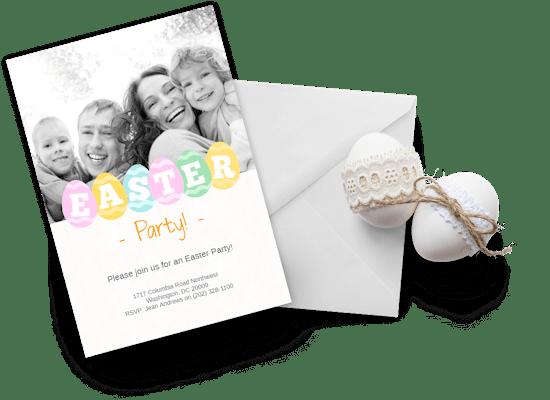 Easter invitations