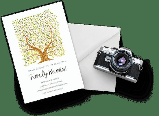 Invitaciones para reuniones familiares