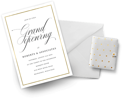 Grand Opening Invitations