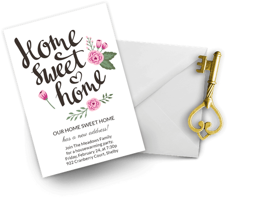 House party invitations