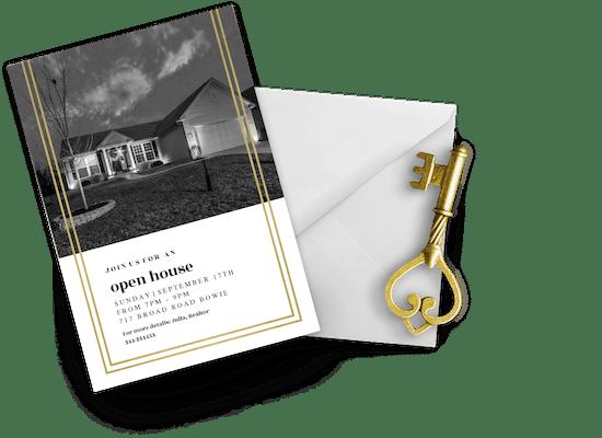 Open House Invitations
