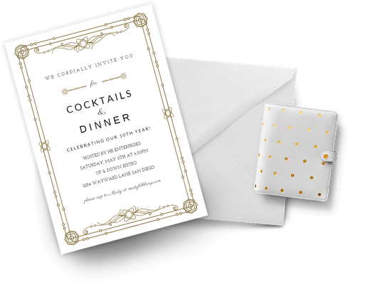 Invitations for Virtual Business events