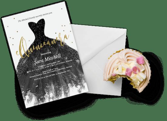 Quinceañera invitations