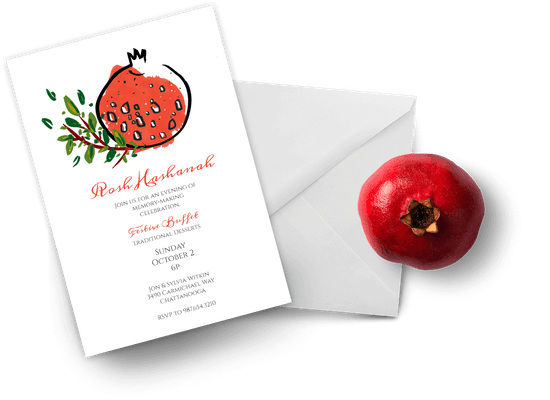 Rosh Hashanah invitations