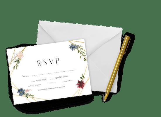 Invitaciones de confirmación de asistencia a eventos